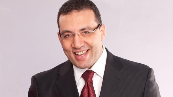 Television anchor and Al-Youm Al-Sabei chief-editor Khaled Salah DNE archive