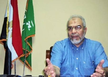Muslim Brotherhood spokesman Mahmoud Ghozlan Archive photo