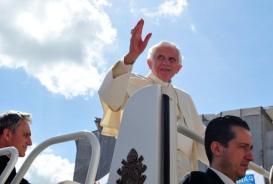 Pope Benedict XVI's resignation decision was surprising (file photo) (AFP/File, Alberto Pizzoli)