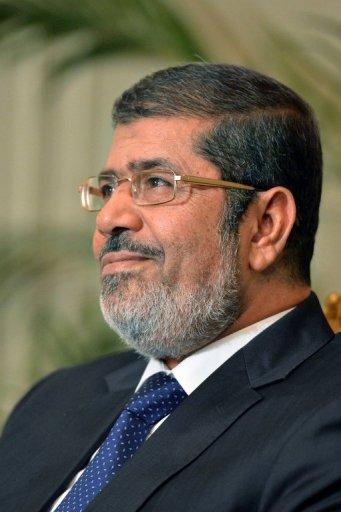 President Mohamed Morsy (AFP/File, Khaled Desouki)