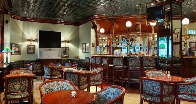 Sherlock Pub at Hilton Ramses Hotel Courtesy of Hilton Hotels