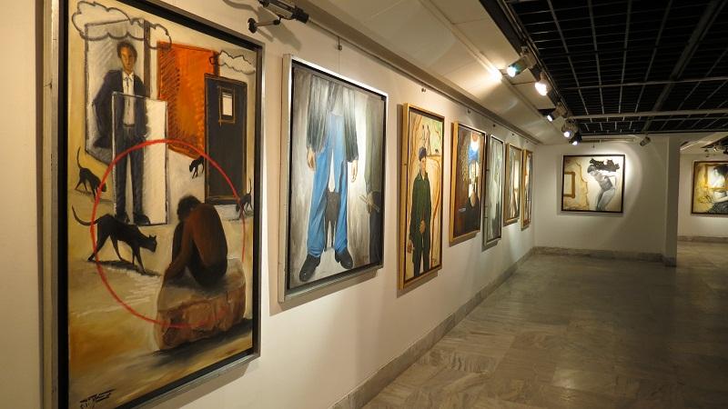Mohsen Shaalan's Exhibition at Gezira Art Centre Thoraia Abou Bakr