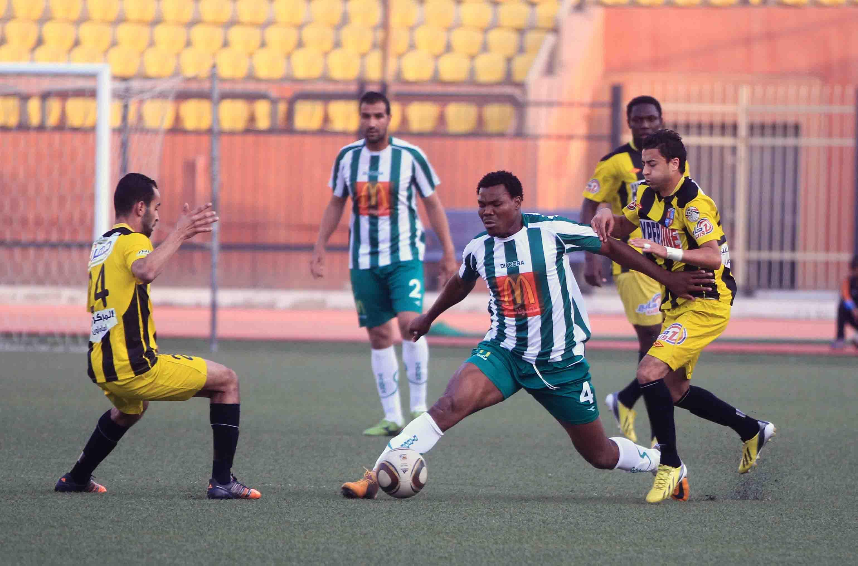 Wadi Degla secured three points against El Gouna (Photo by: Ahmed Al-Malky)